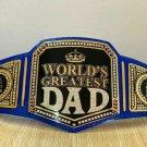 WORLD GREATEST DAD WRESTLING CHAMPIONSHIP BELT ADULT SIZE