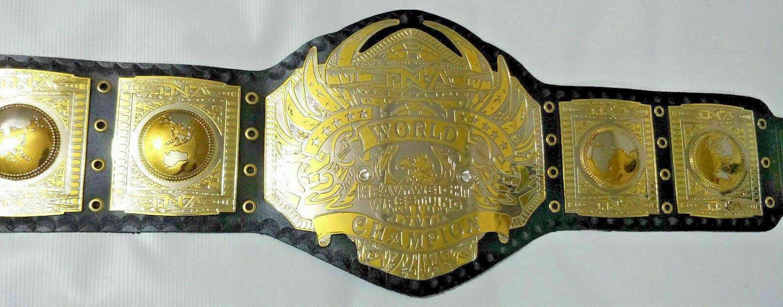 TNA world heavyweight wrestling championship Belt Adult Size for wrestling fans