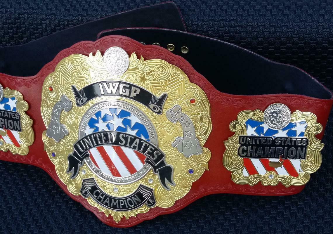 IWGP UNITED STATE Wrestling Champion Title Belt, best gift for wrestling lovers.