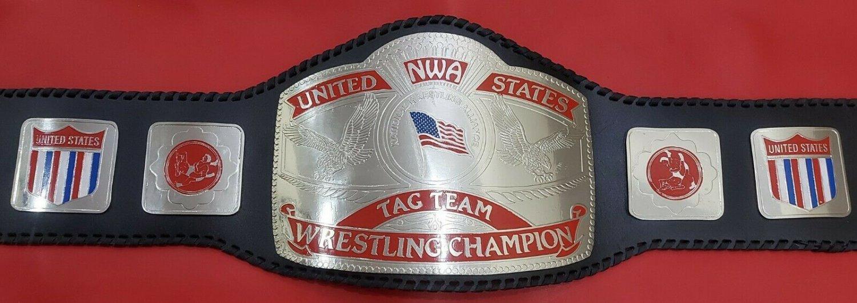 """NEW"" NWA United States tag team Wrestling Championship Belt"