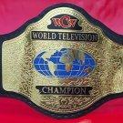 WCW World TELEVISION Wrestling Championship Belt 2mm Brass plates Adult Size.