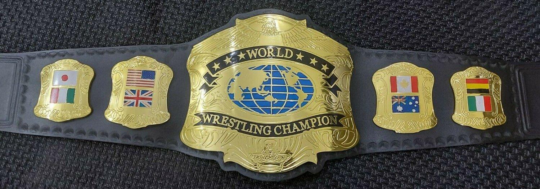 Premier world championship wrestling belt mega deluxe