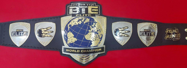 BTE Being The Elite World Championship Wrestling Belt Title Adult Size