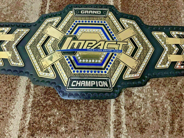 GRAND IMPACT Wrestling Championship Belt.Adult Size. Brand New