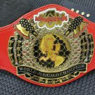 JCW Juggalo Championship Wrestling World Title Belt Zinc plates Flexible Leather