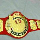 WWF Hybrid Classic Gold Winged Eagle Championship Belt Adult Size.2mm