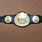 GHC Heavyweight Wrestling Championship Belt Adult size