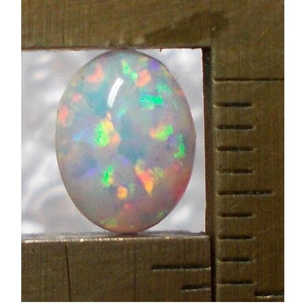 lab created opal, 8X6mm oval