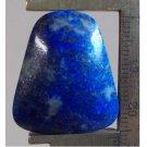 Lapis cabochon, 26.5X25mm keystone