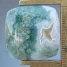 Ocean jasper cabochon, 427.3X27.4mm square