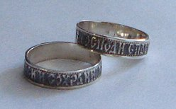Silver Prayer Ring