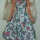 Barbie Doll Type Dress Spring Flowers