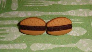 Delicious Hamburger Earrings