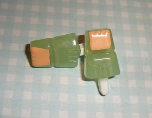 Pineapple Mango Ice Cream Popsicle Earrings