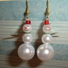 Holiday Snowman Earrings