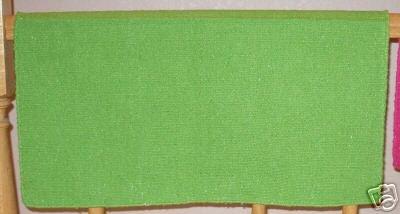 Mayatex Western Saddle Blanket Lime Green