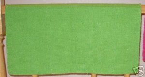 Mayatex Western Saddle Blanket Lime Green