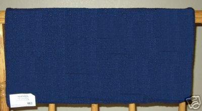 Mayatex Western Saddle Blanket Navy Blue