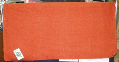 Mayatex Western Saddle Blanket Orange 36x34 NEW!