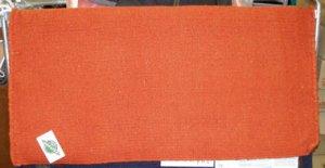 Mayatex Western Saddle Blanket Orange 36x34 NEW!