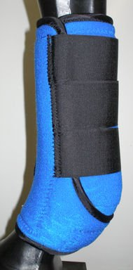 Royal Blue Sport Medicine Boots SMB Medium Horse Tack
