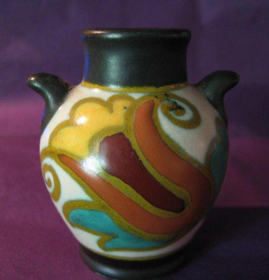 Vintage Gouda Plateelbakkerij Zuid-Holland (PZH) Small Vase