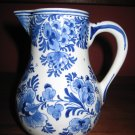 1974 De Porceleyne Fles Royal Delft Classic Milk Pitcher