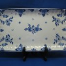 1970 De Porceleyne Fles Royal Delft Large Rectangular Dish Tray