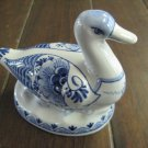 Royal Delft De Porceleyne Fles Duck Figurine