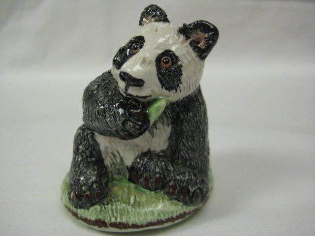 Vintage Basil Matthews England Adorable Panda Bear Figurine