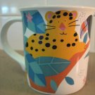 MIKASA ~ CC104 Jungle Friends ~ Leopard Lion Zebra Cup or MUG