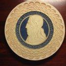 Vintage 1938 De Porceleyne Fles Royal Delft Cloisonne Wall Plate