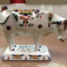 1980 Royal Delft De Porceleyne Fles Polychrome Large Cow