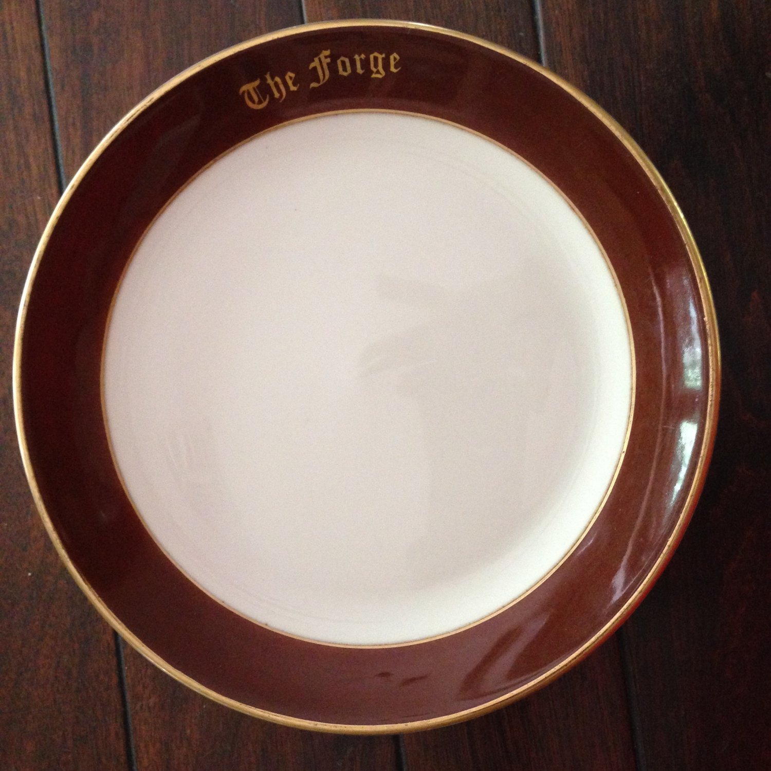 Homer Laughlin Best China Restaurant Ware Plate from The Forge