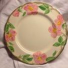 """Vintage FRANCISCAN Earthenware Desert Rose 10.5"""" Plate"""