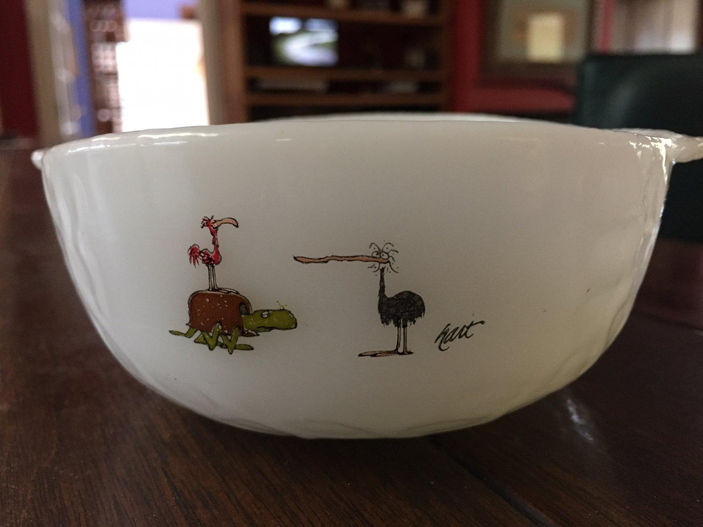 Vintage Fire King BC Comics Cereal Bowl