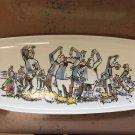 Goedewaagen Gouda Plate Herring Eaters signed V Gool