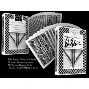 Split Spade Collector's Decks (2 Packs, 1 Autographed, Bee)