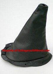 94 - 04 Mustang Shift Boot black LEATHER New