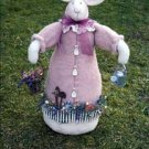 Rosebud Bunny pattern by Bonnie B Buttons # 2985