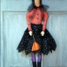 Pattern #7700 hanging Witch by Bonnie B Buttons