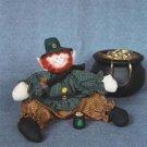 Leprechaun pattern #350  by Bonnie B Buttons