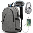 Business Computer Backpack Gray