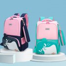 Primary Schoolbag British College Style Large Capacity Spine Protection Backpack