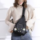 All Match Embroidery Ladies Oxford Backpack