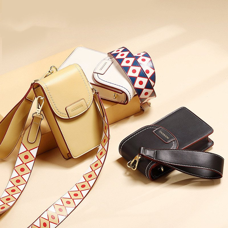Women Mini Messenger Phone Bag