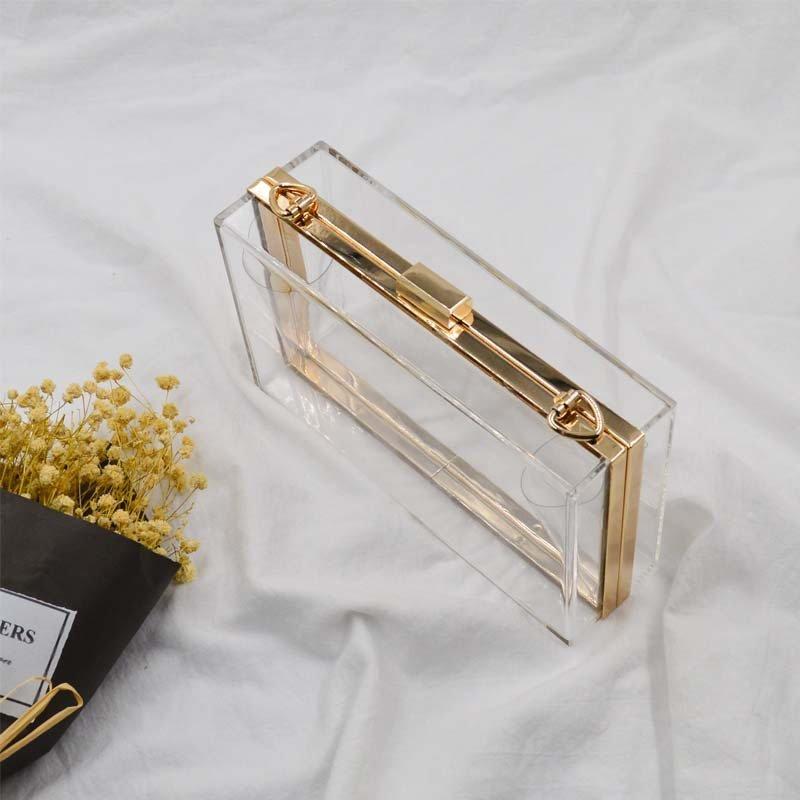 Fashion Acrylic Transparent Bag