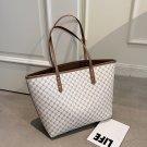 Trends Brand Designer Striped Shopper Shoulder Shopping Bag