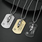 US Marine Corps Brand Bullet Double Necklace