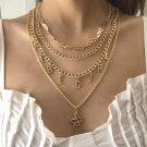 Trend Snake Shaped Pendant Letter Necklace